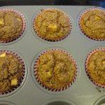 Apple Cinnamon Raisin Bran Muffins