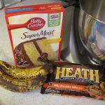 Banana Toffee Picnic Cupcakes