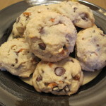 Pretzel & Ice Cream Chocolate Chip Cookies