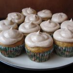 Banana Cupcakes with Honey Cinnamon Cream Cheese Frosting