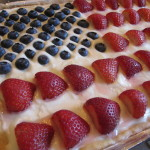 Stars and Stripes Cookie Cake