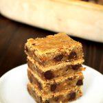 Heath Bar Crunch Cookie Bars