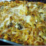 Baked Pasta with Pumpkin, Roasted Veggies, and Chicken