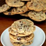 Chewy Chocolate Chip Heath Bar Cookies
