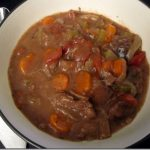 Burgundy Beef Stew + A Bread Failure