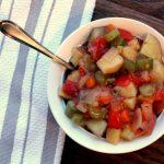 Low Fat Crockpot Veggie Stew
