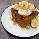 Protein Pumpkin Breakfast Cake