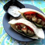 Some Nostalgic Chicken Souvlaki