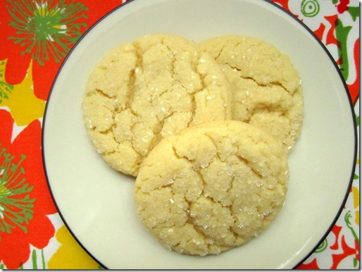Crackled Sugar Cookie Recipe