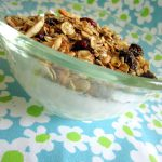 Healthy Cranberry Almond Granola