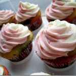 Neapolitan Cupcakes with Ice Cream Frosting