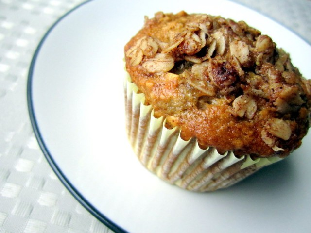 oatmeal raisin banana muffins2