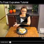 How To Frost Cupcakes {A Video Tutorial}
