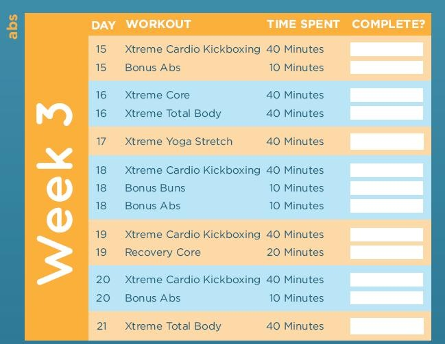 how to get nice abs in a week