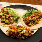 Tilapia Tacos with Roasted Corn Relish
