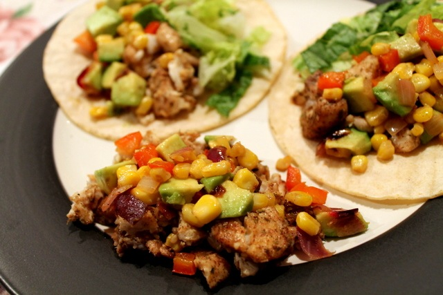 As much as I loved the roasted corn relish topping, the seasoning on ...