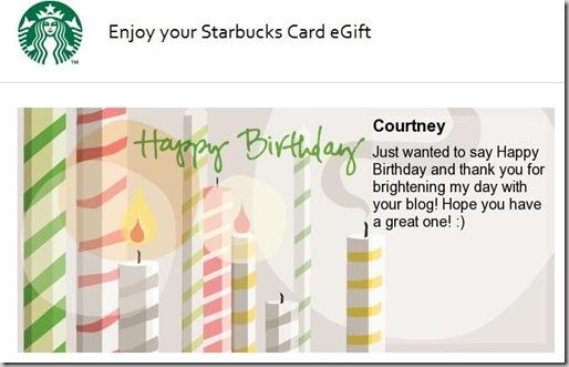 sbux gift card