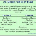 25 Minute Full Body Blast (No Weights!)