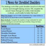 7 Moves For Shredded Shoulders