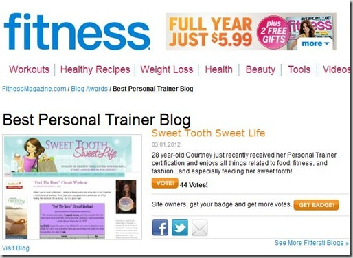 fitness mag best personal trainer blog