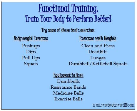 Functional Training: Why It's Important - Sweet Tooth ...