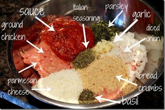 chicken parm burger ingredients