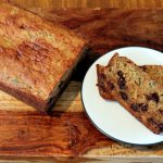 Zucchini Banana Chocolate Chip Bread