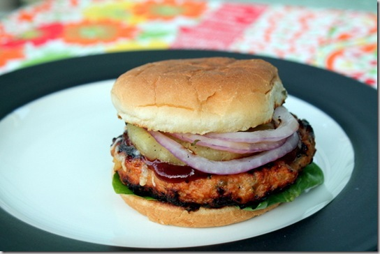 Hawaiian Chicken Burgers (7)