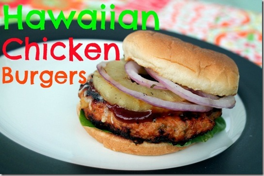 Hawaiian Chicken Burgers (8)