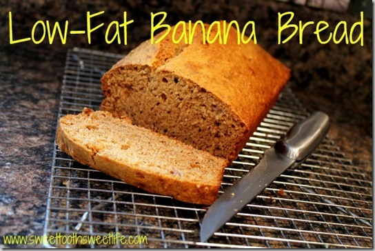 Low-Fat Banana Bread