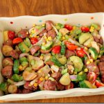 Roasted Potato &amp; Veggie Salad (2)