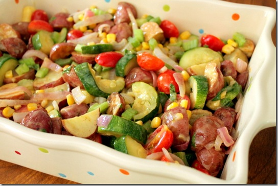 Roasted Potato & Veggie Salad (3)
