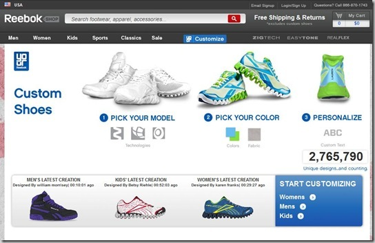 reebok custom shoes