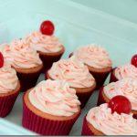 cherry almond vanilla cupcakes (1)