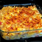 Lighter Mac & Cheese with Chicken & Tomatoes