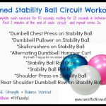 Timed Stability Ball Circuit Workout