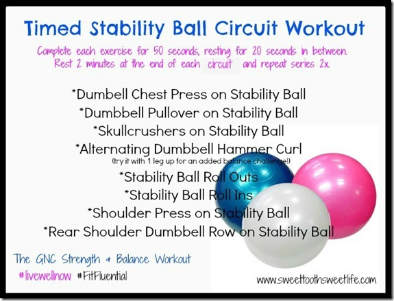 stability ball circuit gnc1