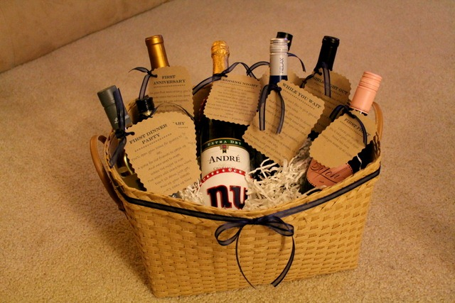 Bridal Shower Wine Gift Basket Ideas : shower gift idea sweet tooth sweet life bridal shower gift ideas ...
