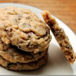 Toffee Chocolate Crispy Cookies