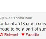 Twitter Goes Viral for #518 Crash Survivors
