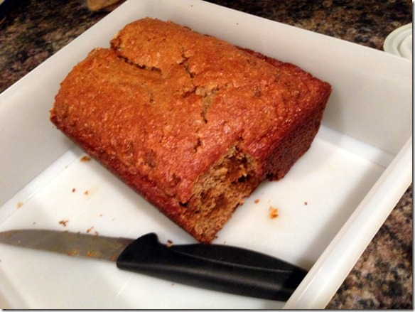 cinnamon chip banana bread