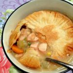 (Lightened Up!) Chicken Pot Pie Soup
