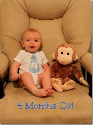 Lucas 4 Months