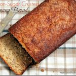 cinnamon sugar crusted banana bread