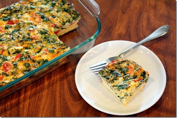 egg and cottage cheese casserole
