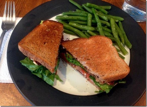 BLT sandwich