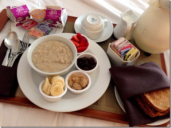 breakfast room service
