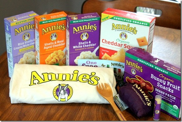 annie's giveaway prize pack