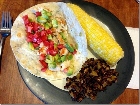 smoky tilapia tacos