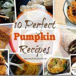 10 Perfect Pumpkin Recipes